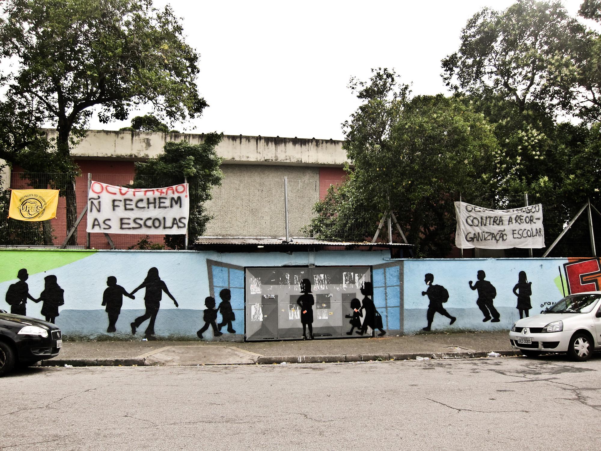 Ocupação Escola Estadual Profº Moacyr Campos